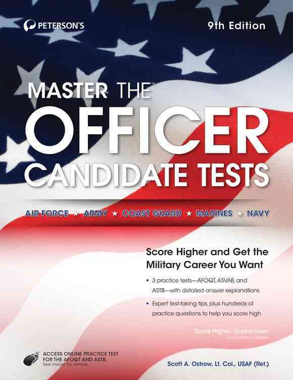Master the Officer Candidate Tests By Peterson's (COR)